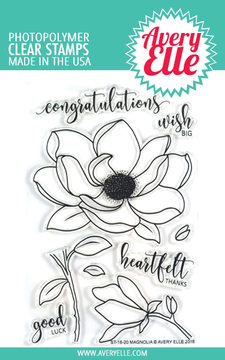 Avery Elle Magnolia Clear Stamps