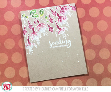 Fuchsia Clear Stamps