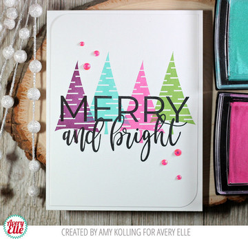 Quirky Christmas Clear Stamps