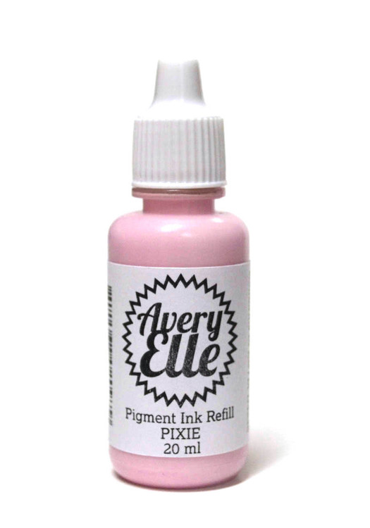 Our Pixie Pigment Ink Refills extends the life of our Pixie Pigment Ink Pads.