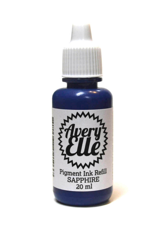 Our Sapphire Ink Refills extends the life of our Sapphire Pigment Ink Pads.