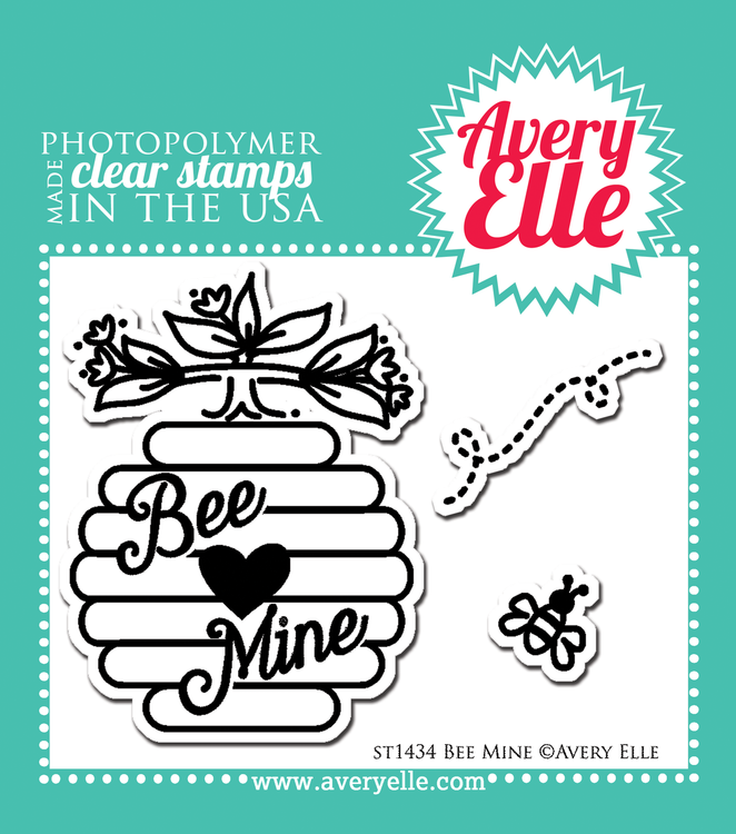 Bee Mine Clear Stamp Set