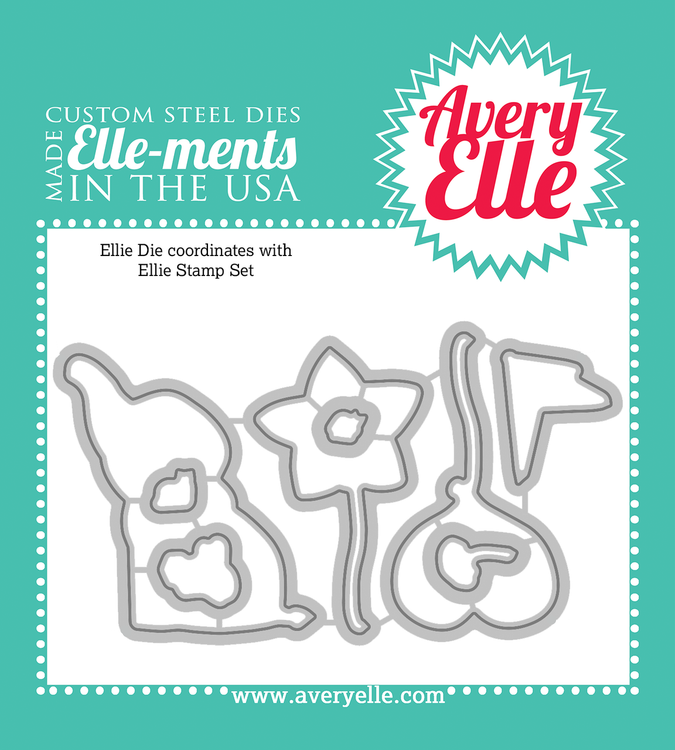 Custom Steel Dies - Ellie by Avery Elle Inc.