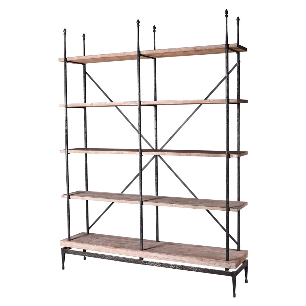 LIBRARY SHELVING (F114)