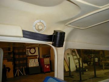 Cessna 100 Series - Front Inertial Reel