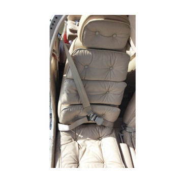 Beech Replacement Front Seat, Inertial Reel Equipped