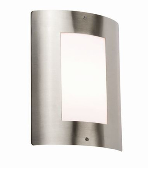 240V IP44 E27 40W max. Stainless Steel Outdoor Wall Fixture (DFL1NH027)