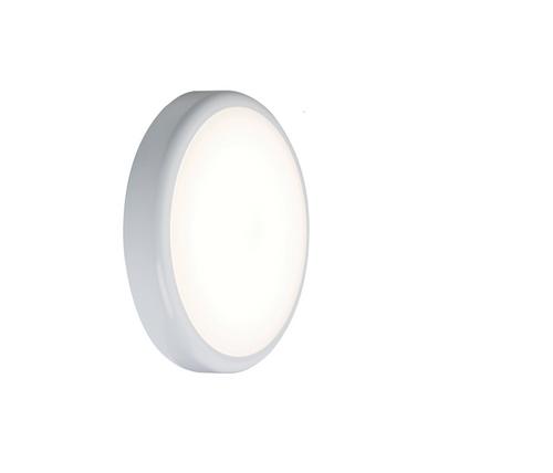 230V IP44 9W Emergency Trade LED Flush 4000K (256mm) (DFL1BT9EM)