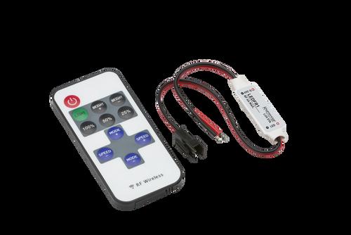 12V / 24V In-line RF Controller and Remote - Dimmer Single Colour (DFL1LEDFR1)