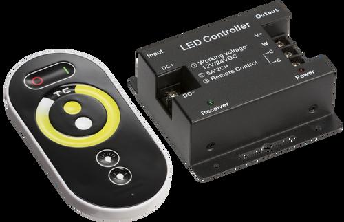 12V / 24V RF Controller and Touch Remote - CCT (DFL1LEDFR8)