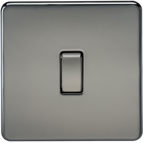 Screwless 10A 1G 2-Way Switch - Black Nickel (DFL1SF2000BN)