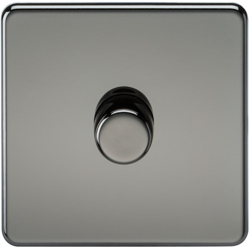 Screwless 1G 2-Way 40-400W Dimmer Switch - Black Nickel (DFL1SF2171BN)