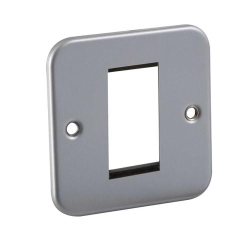 Metal Clad 1G Modular Faceplate (DFL1M1G)