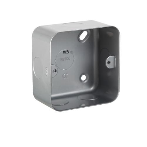 Metal Clad 1G Back Box (DFL1M8700)