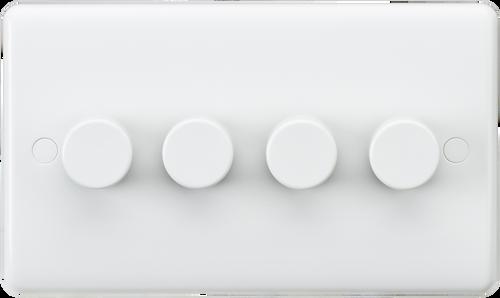Curved edge 4G 40-400W dimmer (DFL1CU2164)