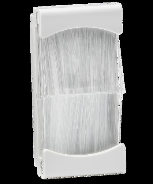 25mm x 50mm brush module - White (DFL1NETBR1GW)
