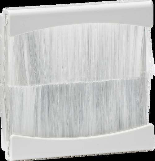 50mm x 50mm brush module - White (DFL1NETBR2GW)