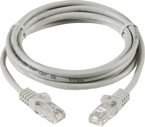 Grey 5m UTP CAT5E Networking Cable (DFL1NETC55M)