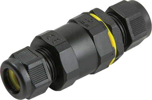 IP68 16A Weatherproof Inline Connector (3 Pole) (DFL1JB002)