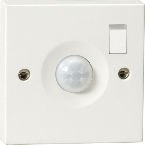 Wall Mounted PIR Sensor with Switch IP20 (DFL1PIR0901S)