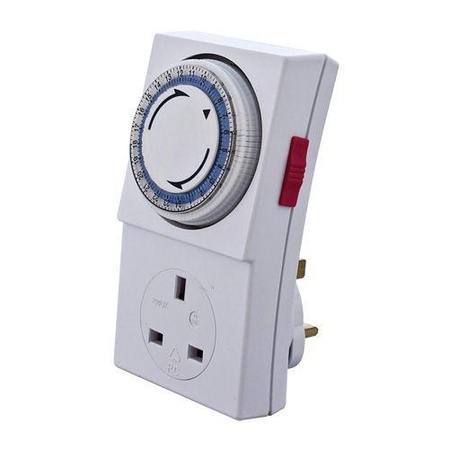 24 Hour Plug-ln Segment Timer 13Amp 3kW to BS3456 (DFL2PST24H)