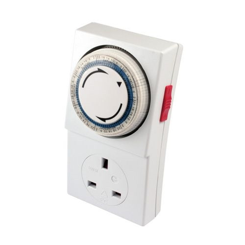 7 Day Plug-ln Timer Segment 13Amp 3kW 24 Hours to BS3456 (DFL2PST7D)