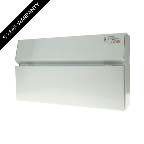 18 Way Lumo Metal Consumer Unit with Busbar without Incomer (DFL3MCU18W)