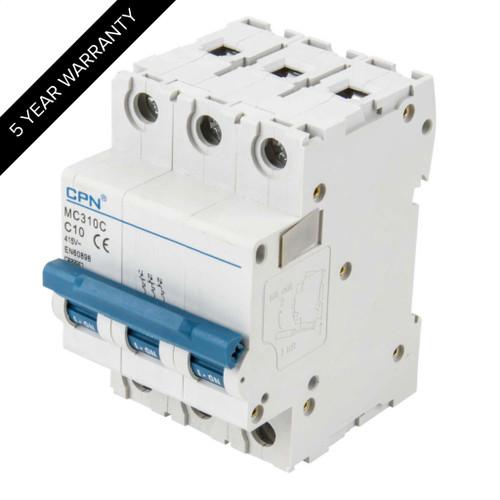 10A 3P 6kA Type C MC MCB (DFL3MC310C)