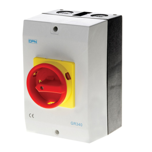 40A 3P AC Isolator Enclosed (DFL3GR340)