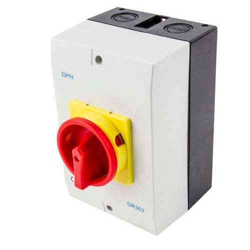 63A 3P AC Isolator Enclosed (DFL3GR363)