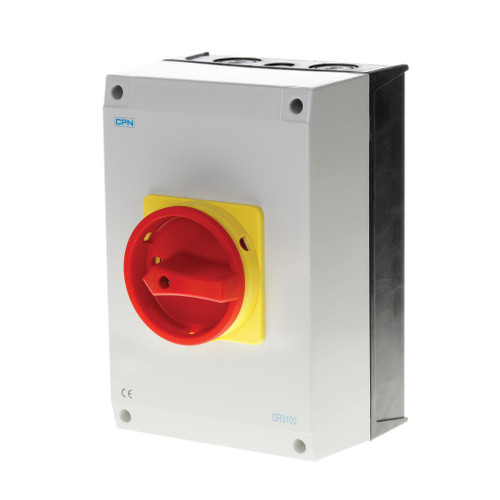 100A 3P AC Isolator Enclosed (DFL3GR3100)
