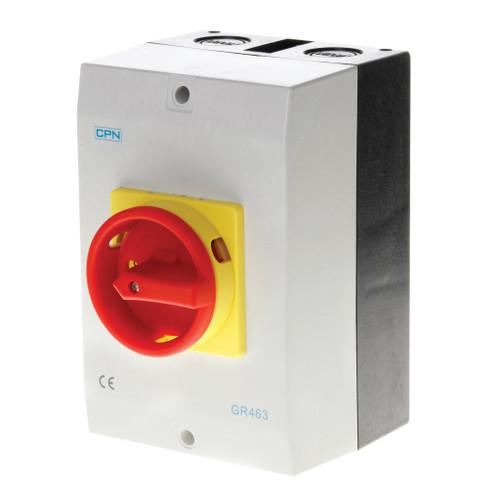 63A 4P AC Isolator Enclosed (DFL3GR463)