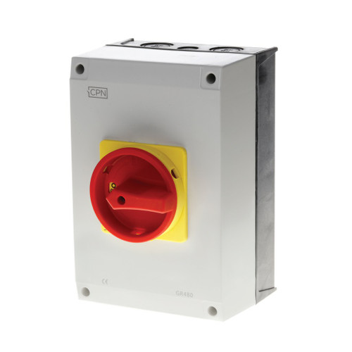 80A 4P AC Isolator Enclosed (DFL3GR480)