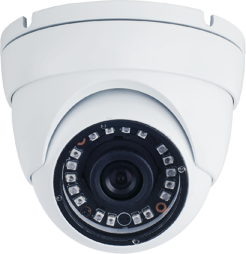 SmartVision FullHD 2.4MP 1080P AHD 2.8mm IP67 Metal Dome Camera IR Cut 20M IR WHITE