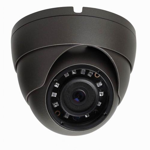 SmartVision FullHD 2.4MP 1080P AHD 2.8- 12mm Verifocal IP67 Metal Dome Camera IR Cut 20M IR GREY