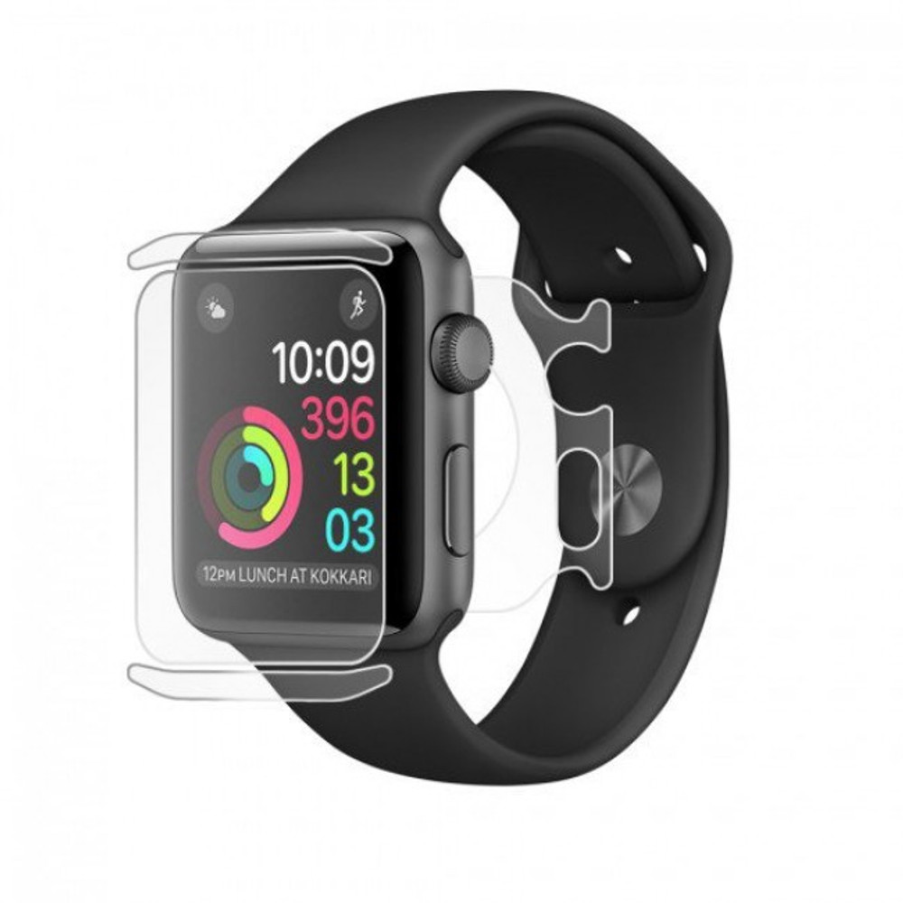 BodyGuardz UltraTough Clear Skins Full Body for Apple Watch Series 2/3 (38mm)
