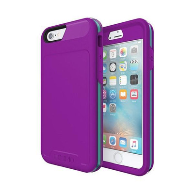 Incipio Performance Rugged Case for iPhone 6S / 6 - Purple / Teal