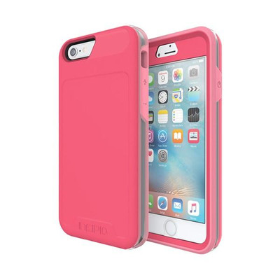 Incipio Performance Rugged Case for iPhone 6S / 6 - Pink / Gray