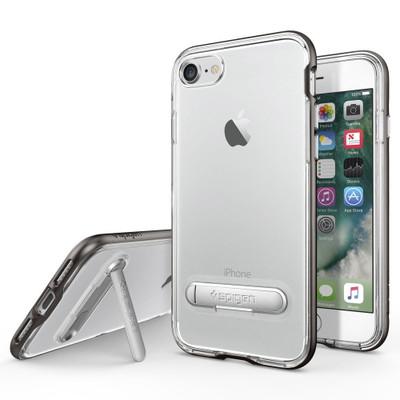 Spigen Crystal Hybrid Case for iPhone 7 - Gunmetal