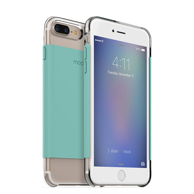mophie Hold Force Base Case for iPhone 7 Plus - Mint