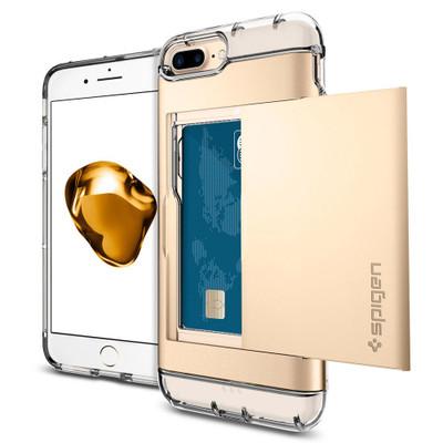Spigen Crystal Wallet Case for iPhone 7 Plus - Gold
