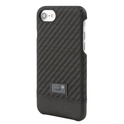 Hex Focus Case for iPhone 7 - Black Carbon Fiber