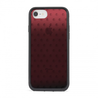 Diesel Printed Co-Mold Case for iPhone 8, iPhone 7 & iPhone 6/6s -Mohican Head Dot Red/Black/Clear/Ombre