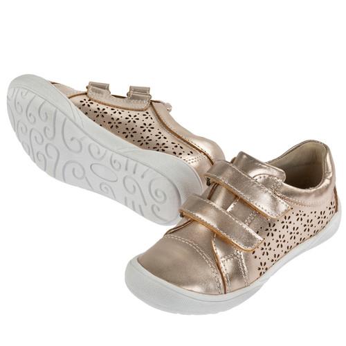 Rhonda Leather Casual Shoe - Bronze