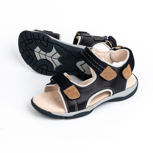 James Boys Adjustable Leather Sandal