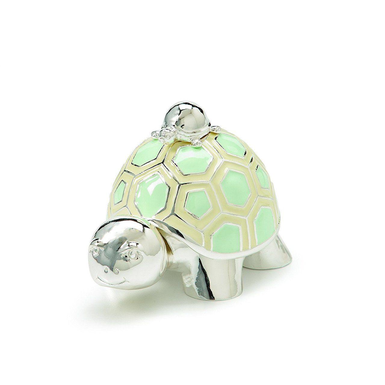Demdaco Tender Love Baby Turtle Keepsake Box - Bluebasilgifts.com