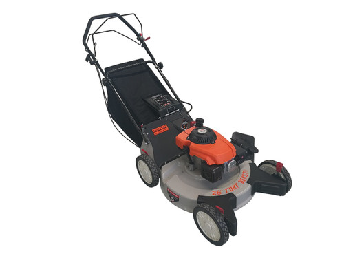 """TURF BEAST 26"""" 208cc  with spin-on oil filter, 3-in-1 features (bag / discharge / mulch), self propelled rear wheel drive w/ blade brake clutch (not sold in California)"""