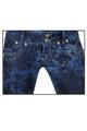 New Unique Low Rise Slimming Boot Cut Blue Tie Dye Clove Jeans