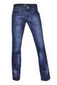 Dark Blue Stretch Denim  Straight Leg Jeans Plus Size 14 - 24
