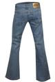 Boot cut jeans back